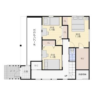 モデルハウス1F